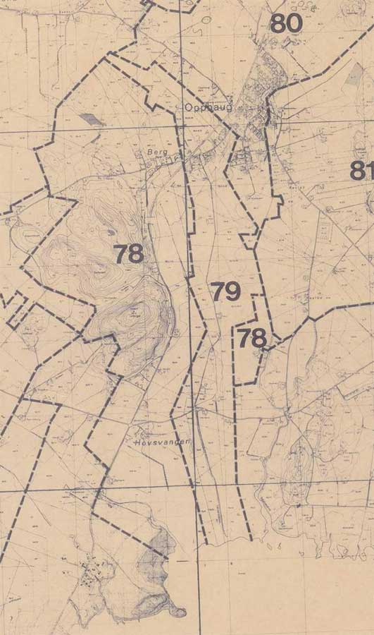 gårdsnummer kart Matrikkelgården Hov, gårdsnummer 79. gårdsnummer kart