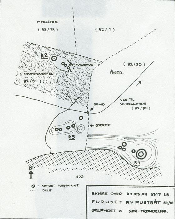 fornminner kart Gravhaug i Fitjan fornminner kart
