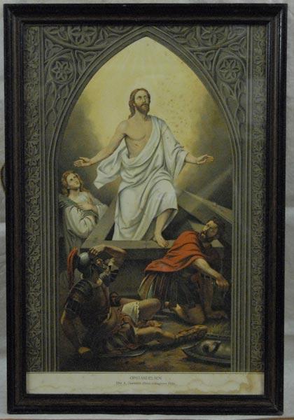 tidemand og gude fem malerier